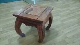 Hardwood coffee table very good condition