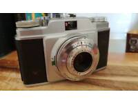 Agfa silette compur-rapid 35mm film camera VGC with case