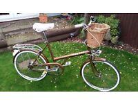 Raleigh Shopper Vintage Ladies Bike