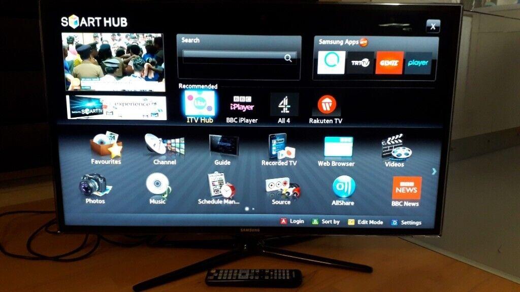 iplayer app not working on samsung tv