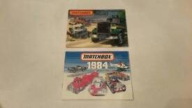 MATCHBOX COLLECTORS CATALOGUES 1982/83 & 1984