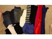 Size 8 maternity clothes bundle