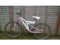 ladies 18 speed mountain bike for sale spares repairs