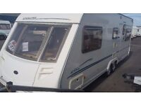 Touring caravan sterling trekker elite 2002 twin axle