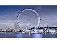 London Eye Standard Experience Tickets - ADMITS 1 ADULT