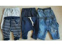 Baby boys trousers 0-3