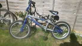 Boys BMX bike 11'' frame. V good condition