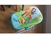 Rocking Chair Swinging Baby Lounger - Cradle Chair - Sleeping Baby Bed