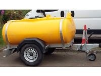 1000 litre water bowser for sale.