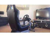 Logitech G920 + playseat evolution