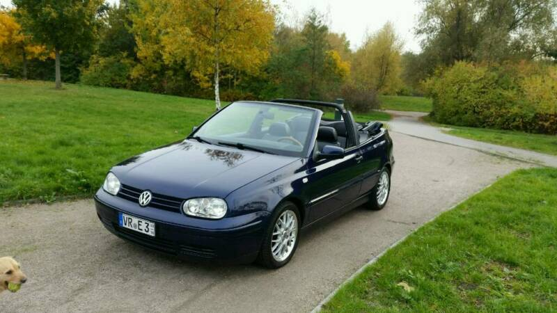 vw golf iv cabriolet vollausstattung in rostock gehlsdorf vw golf gebrauchtwagen ebay. Black Bedroom Furniture Sets. Home Design Ideas