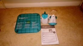 Angelcare simplicity movement sensor with sound baby monitor AC601