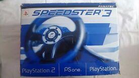 Fanatec Speedster 3 Steering Wheel