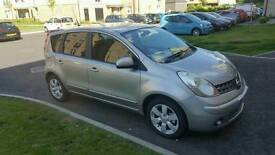 2008 NISSAN NOTE, Mot 25/05/2018, ONLY 48000 mileage,full service history,EXCELLENT CONDITON