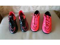 Football boots and astro boots