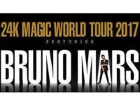 1 x Bruno Mars Ticket