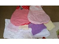 Baby blankets and sleeping bags