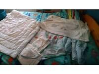 Mothercare Little Beep Beep cot bed bundle