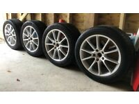"Porsche Cayenne E3 OEM 20"" Design Alloy wheels & winter tyres"
