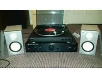 Amp + Turntable + Speakers