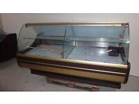 NEW £1481 incl VAT 200cm(6.6 feet) Serve Over Counter Display Fridge WCH6-1B