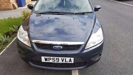 Ford Focus, 1.6L Zetec-S PFI HPDC 100PS, Sea Grey (Metallic)