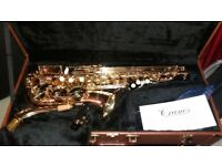 Cranes Alto Saxaphone excellent condition. comes with hard leather carry case an