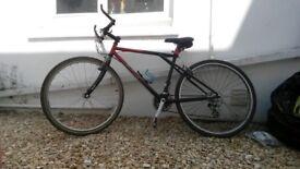 Cheap Push Bike (NEEDS NEW FRONT BRAKE PADS)