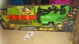 Childs toy machine gun