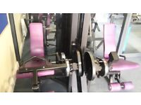 Pulse Fitness Leg Extension anc leg curl Machine