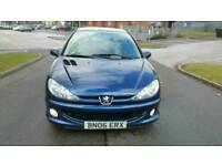 Peugeot 206 1.4 diesel cheap tax and insurance hpi clear excellent drive