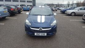 Vauxhall corsa sting ltd edition manufacturer warranty sporty look