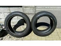 Pirelli run flat tyres 225 50 18