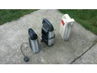 3 rechargeable twin tube camping lamps need batteries