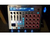 M-AUDIO TRIGGER FINGER PRO VGC BOXED USB POWERED