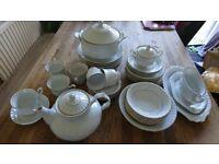 """Chodziez """"Iwona""""porcelain tea set"""