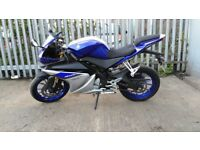 Yzf R125 Blue Colour Low mileage Nearly brand New