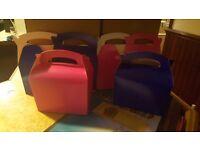 Pink & Blue Party Boxes Bulk Buy 250 pink 224 blue
