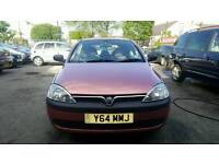 Vauxhall Corsa GLS 12V Red 1.2 5 Door Small Car
