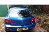 Blue Mazda 3 -MOT until 04/12/18 & Just had full service.