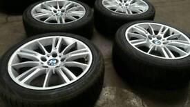BMW MSPORT ALLOY WHEELS BARGAIN