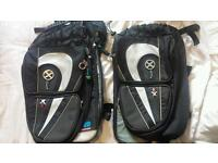 Oxford x60 60L panniers velcro with waterproof covers fantastic condition £120 new