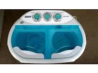 Portable electric washing machine