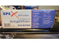 Spl 350 watt amplifier 2 channel