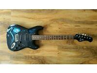 Jaxville Hades Grim Reaper Electric Guitar