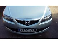 Mazda 6 Estate TS2 Diesel 2007, bluetooth BOSE, tinted windows, tow bar, must sell asap. Price ONO