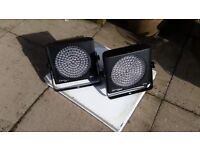 Pair of DJ Lights - QTX Light SP64 LED PAR 64 LED