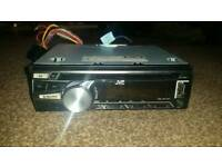 Jvc cd radio reciever