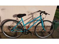 Ladies hybrid bike..............£55