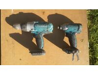 makita drill and impact driver